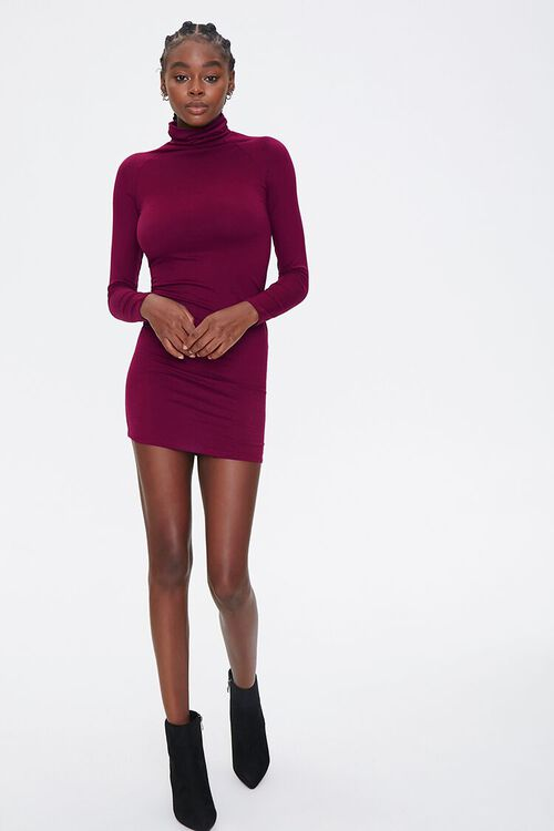 Turtleneck Bodycon Dress, image 4