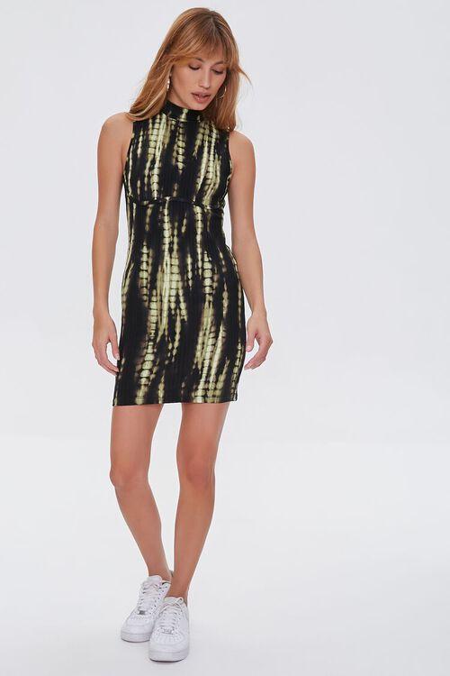 Bleached Bodycon Mini Dress, image 5