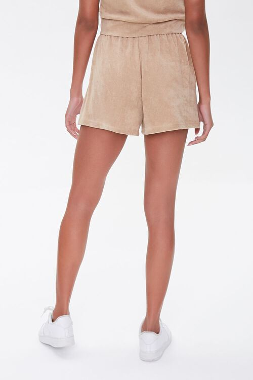 Kendall & Kylie Terrycloth Elastic Shorts, image 4