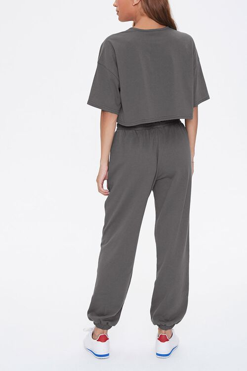 Cropped Tee & Joggers Set, image 3