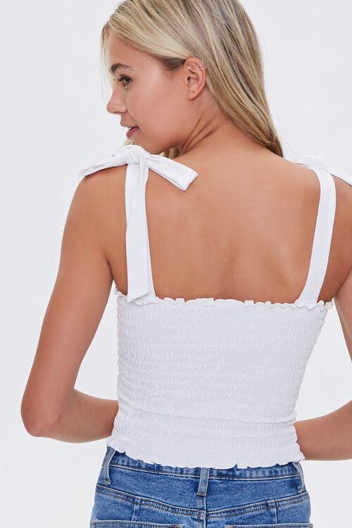 Smocked Self-Tie Top, image 3