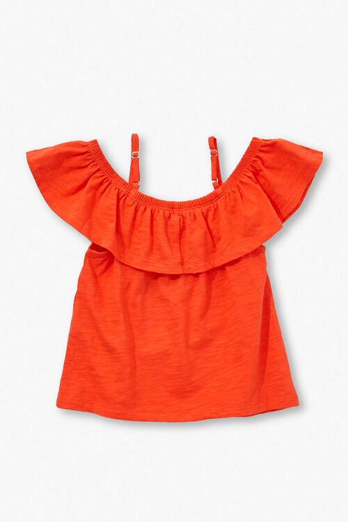 Girls Open-Shoulder Top (Kids), image 2