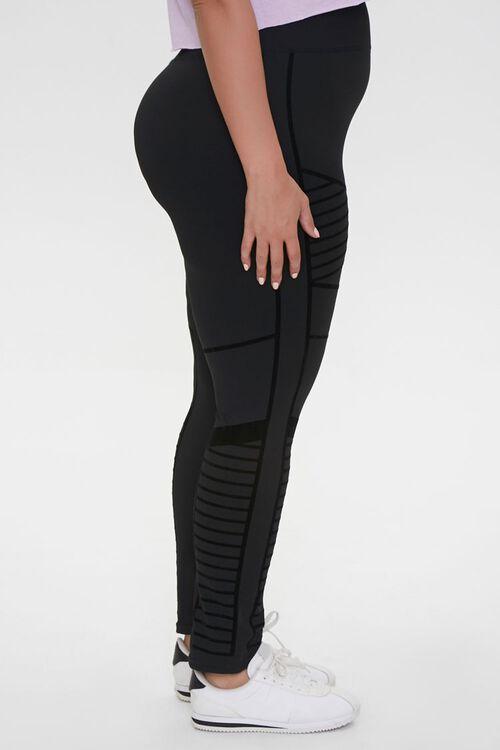 Plus Size Active Monochrome Leggings, image 3
