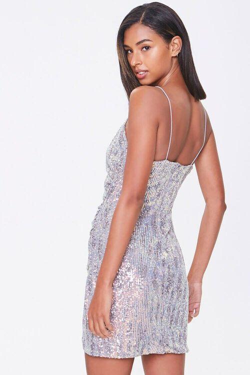 Metallic Sequin Bodycon Dress, image 2