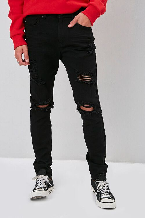 Distressed Skinny Jeans, image 2