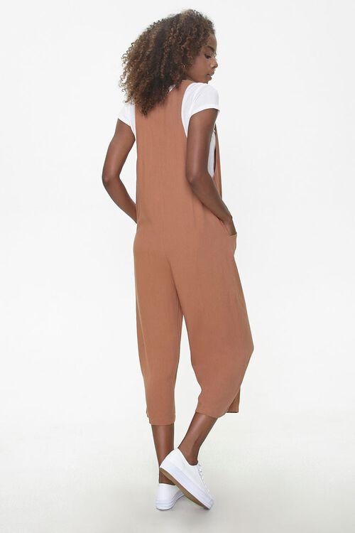 Sleeveless Linen-Blend Jumpsuit, image 3