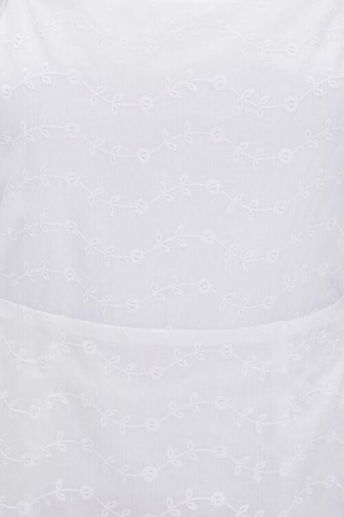 Eyelet Pinafore Dress, image 5