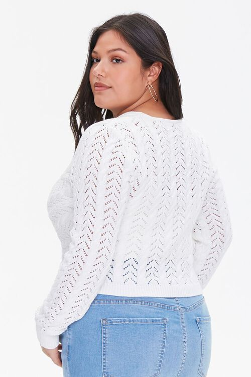 Plus Size Twisted Sweater-Knit Top, image 3
