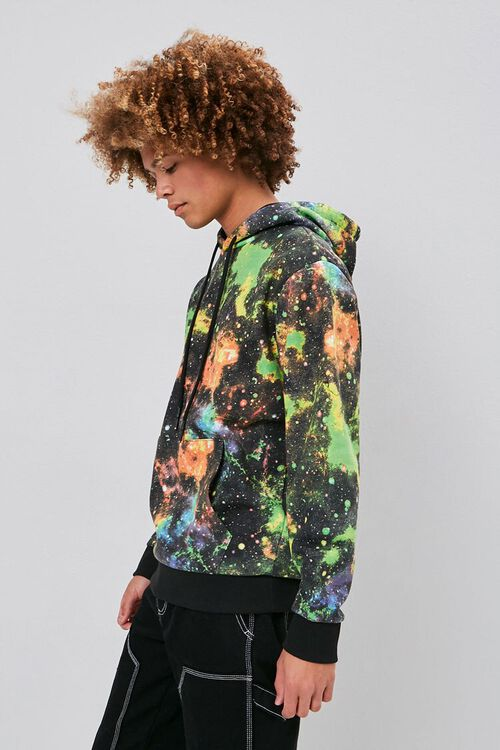 Outer Space Wash Drawstring Hoodie, image 2