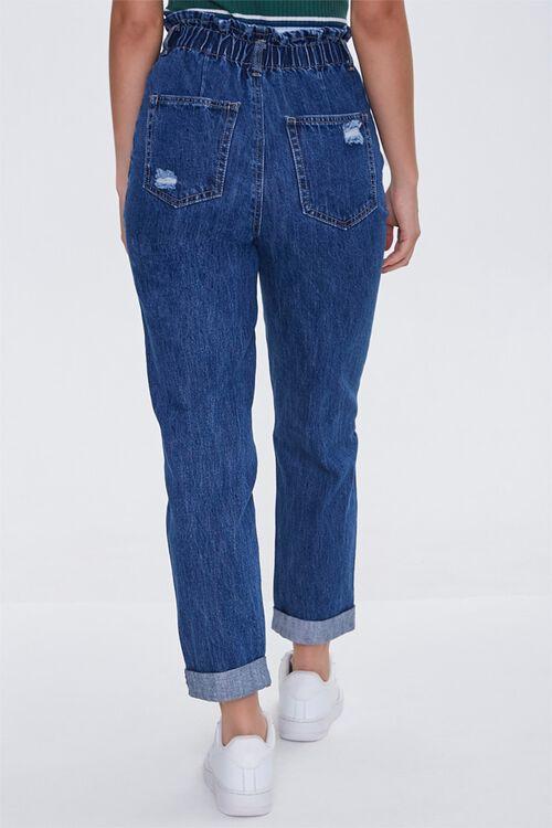 Distressed Paperbag Jeans, image 4