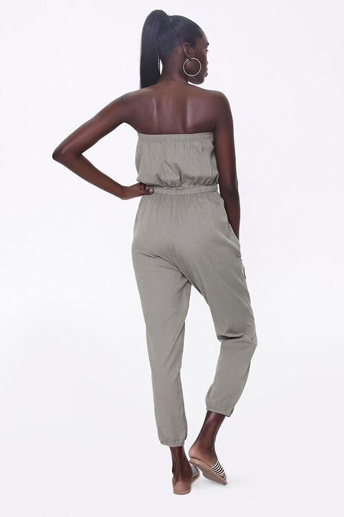 Strapless Denim Jumpsuit, image 3