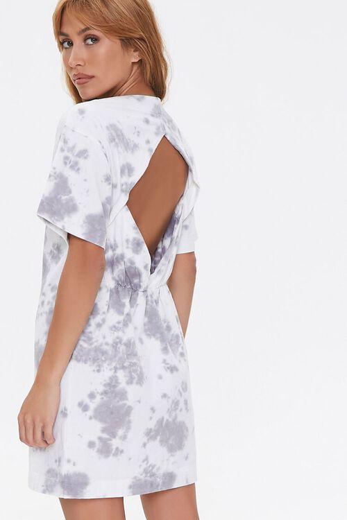 Tie-Dye Cutout T-Shirt Dress, image 1