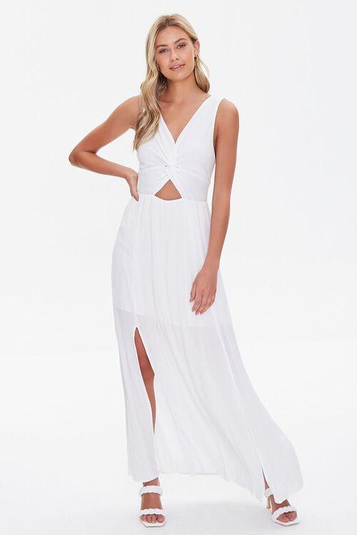 Twisted Cutout Maxi Dress, image 1