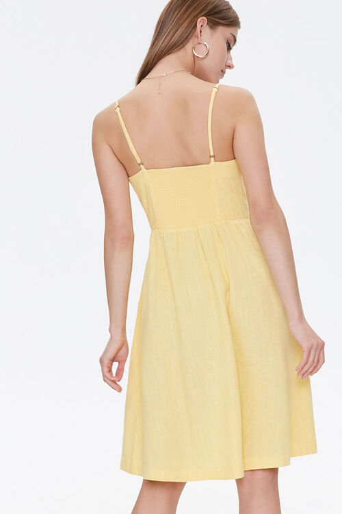 Button-Front Cami Dress, image 3