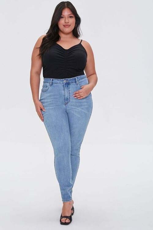 Plus Size High-Rise Skinny Jeans, image 5