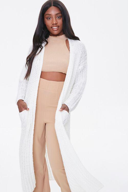 Longline Knit Cardigan, image 4
