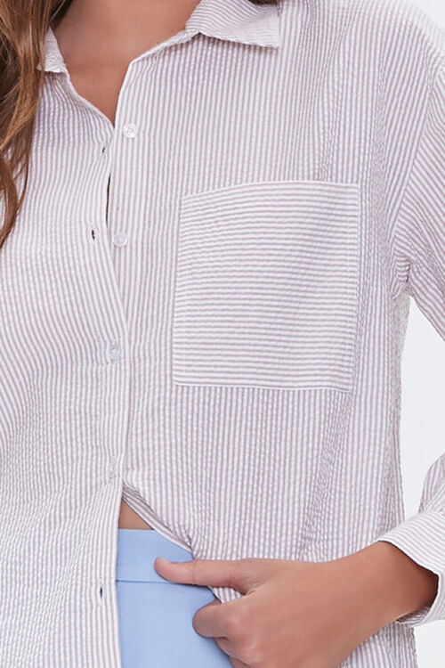 Striped Seersucker Shirt, image 5