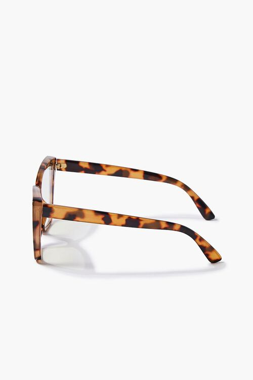 BROWN/CLEAR Blue Light Reader Glasses, image 3