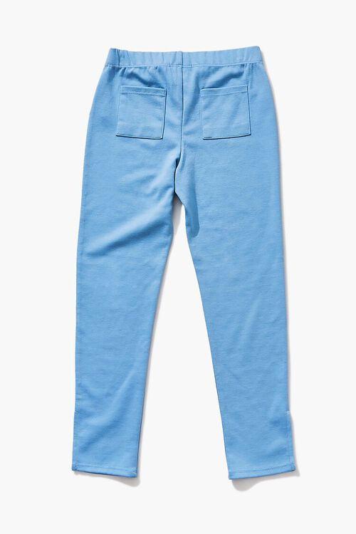 BLUE Girls Split-Hem Leggings (Kids), image 2