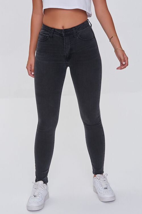 Mid-Rise Skinny Jeans, image 2
