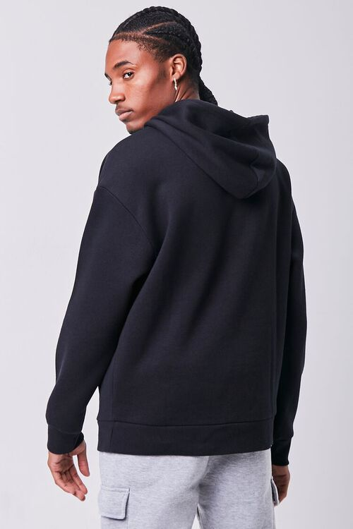 BLACK/MULTI Problems Embroidered Graphic Hoodie, image 3