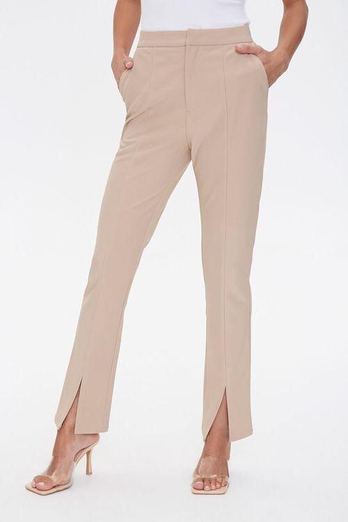 Darted Split Flare Pants, image 2