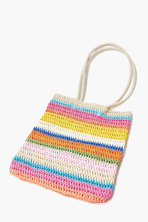 Striped Tote Bag, image 1