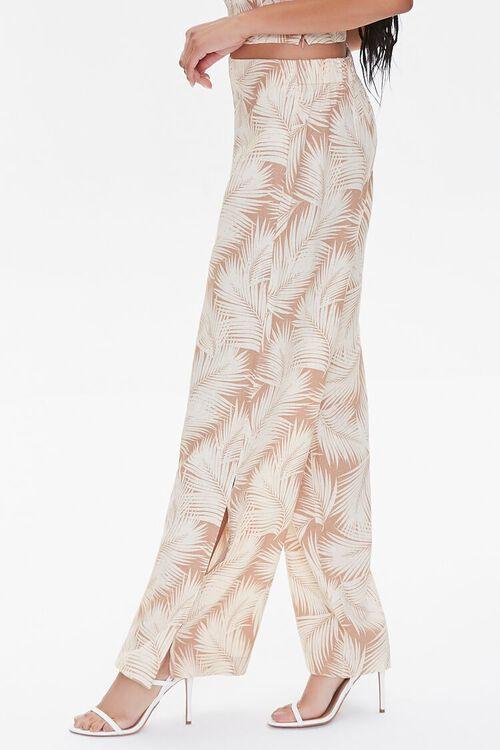 Tropical Leaf Print Pants, image 3
