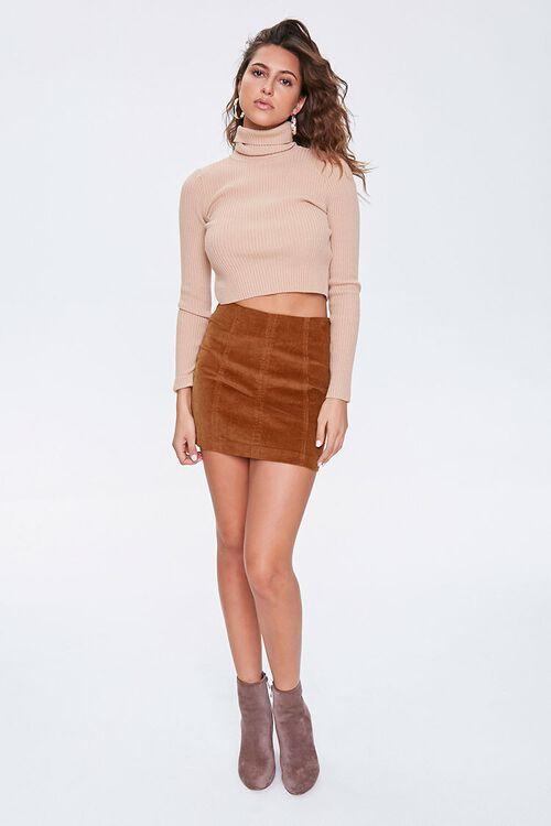 Corduroy Mini Skirt, image 5