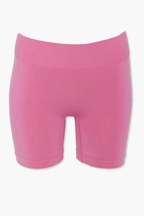 VIOLET Seamless Biker Shorts, image 1