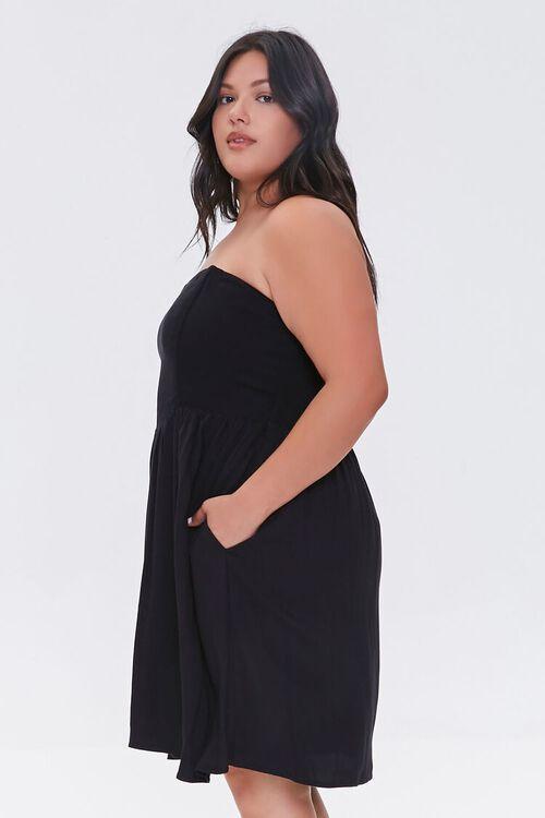 Plus Size Strapless Princess Dress, image 2