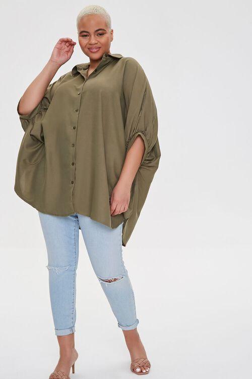 Plus Size Shirt Tunic, image 1