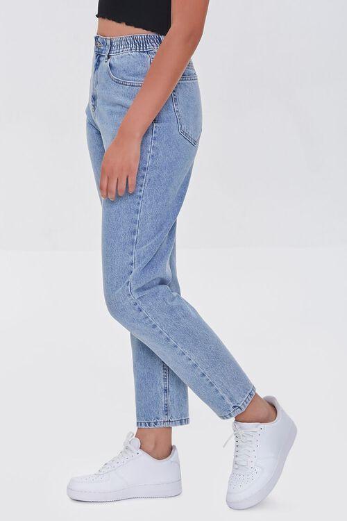 LIGHT DENIM High-Rise Mom Jeans, image 3
