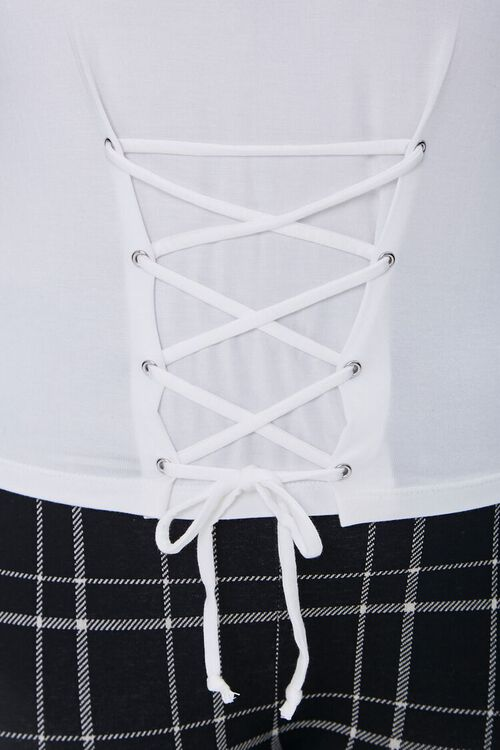 Plus Size Lace-Up Tee, image 5