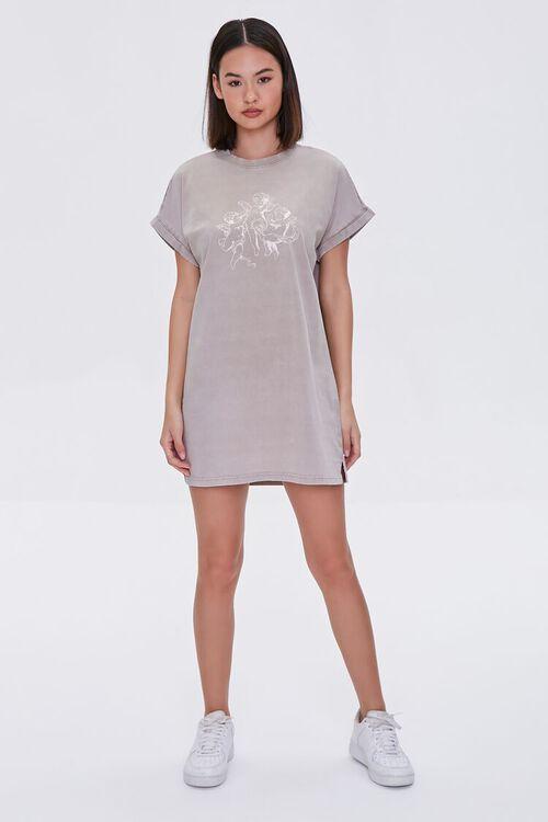 Angel Graphic T-Shirt Dress, image 4
