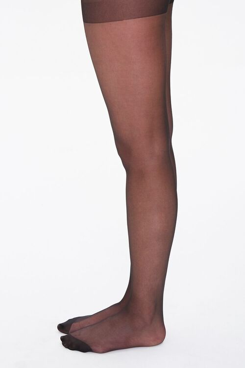 Plus Size Sheer Tights, image 2