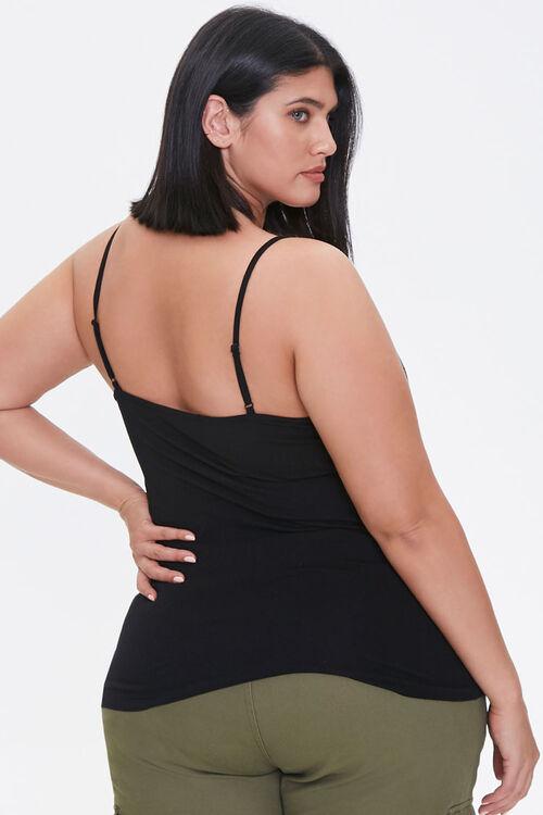 Plus Size Scoop Neck Cami, image 3