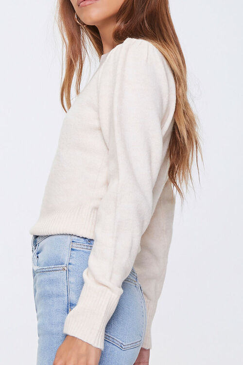 Ribbed-Trim Sweater, image 2