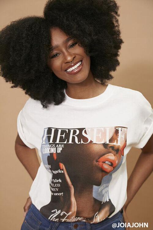 Herself Magazine Graphic Tee, image 1