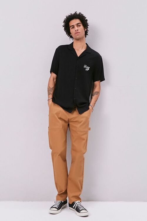 Classic Fit Embroidered Shirt, image 4