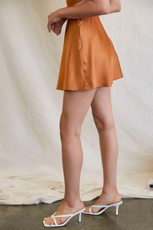 CHESTNUT Skater Mini Skirt, image 3