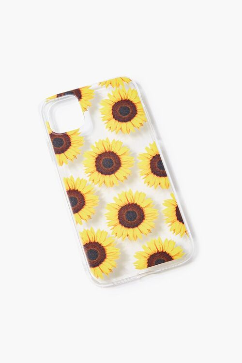 Sunflower Print Care for iPhone 11, image 1