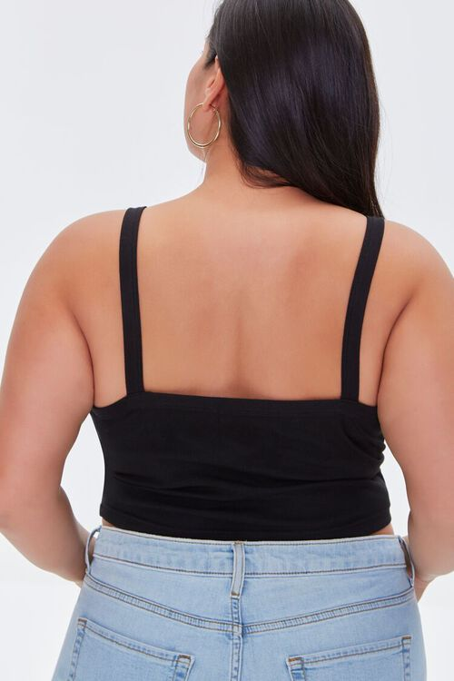 Plus Size Cropped Cami, image 3