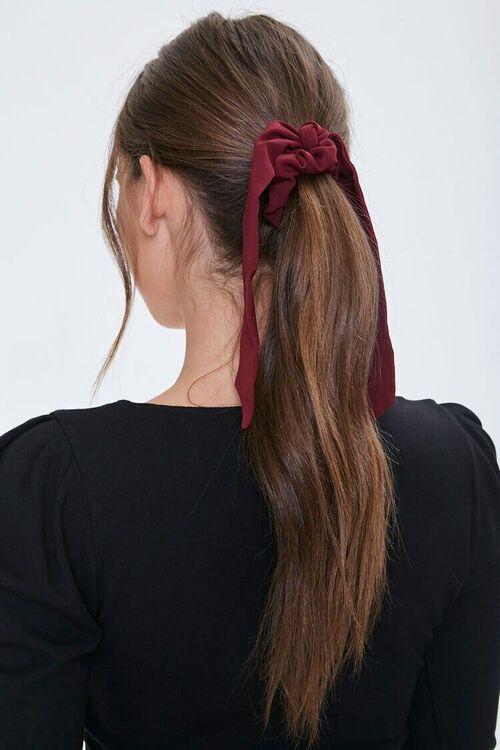 Ruffled Bow Scrunchie, image 1