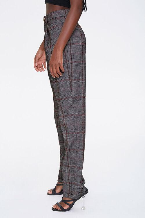 Glen Plaid Cuffed Pants, image 2