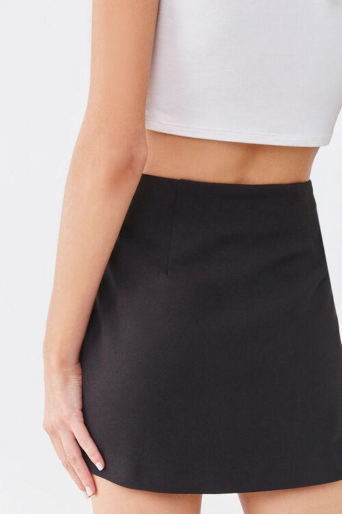 Crepe Mini Skirt, image 4