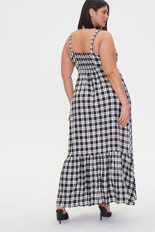 Plus Size Plaid Maxi Dress, image 4