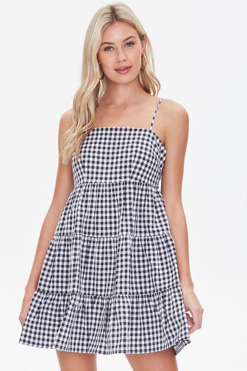 Gingham Cami Dress, image 1