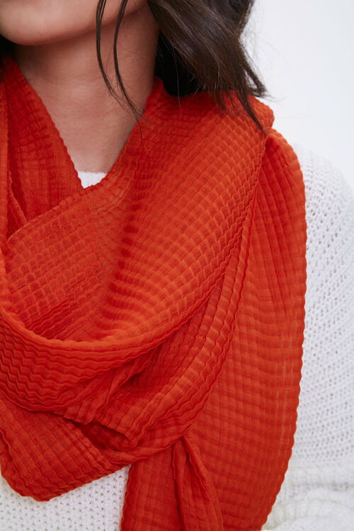 Textured Oblong Scarf, image 2