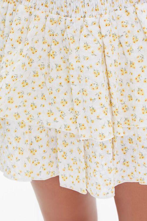 Floral Mini Skirt, image 5
